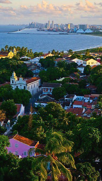 Olinda, Pernambuco, Brazil Enjoy your journey to a colorful and diverse land. 'Like' us on facebook. https://www.facebook.com/AllThingsBrazil