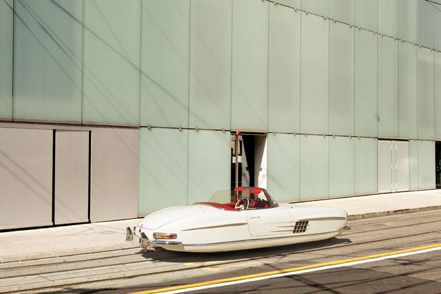 Photo Series Of Floating Cars Shows What We Wish 21st Century Vehicles Looked Like