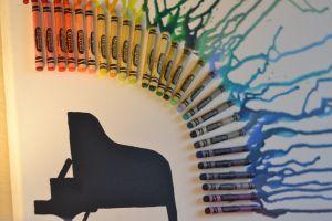 How to do crayon art