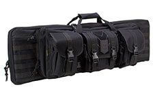 Ranger Double Rifle Case - Padded Long Gun Case & Rifle Storage Backpack With MOLLE Pouches
