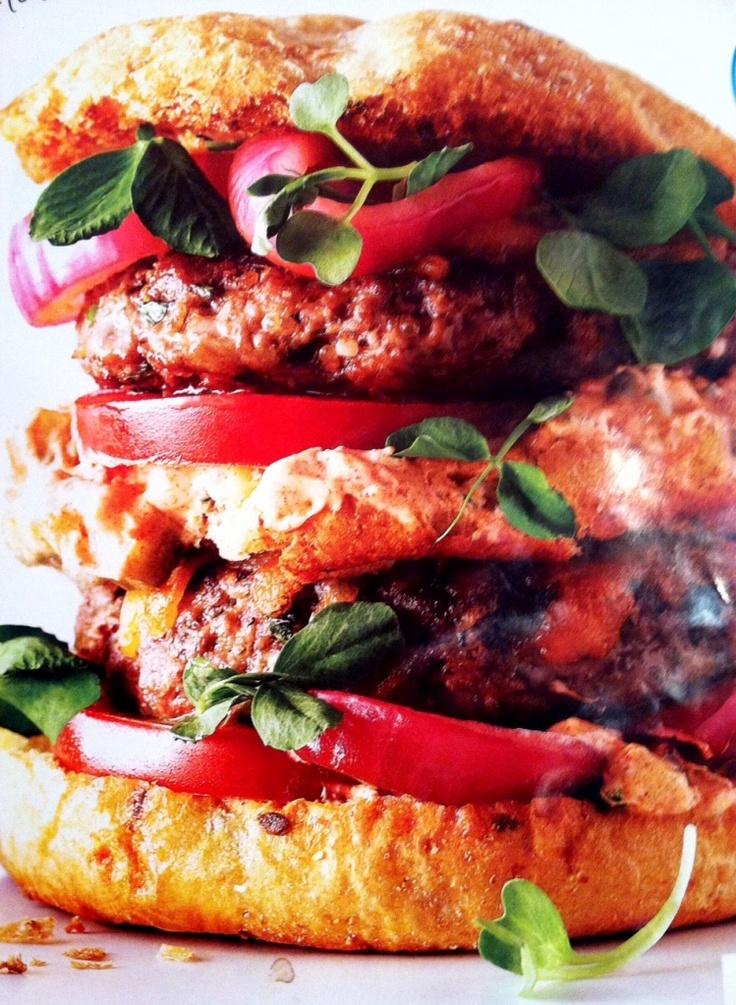 the big stack burger: turkey & quinoa
