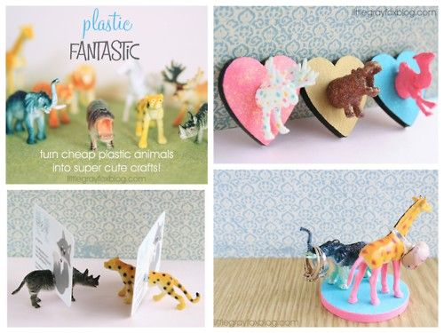 fun things to do with plastic animals