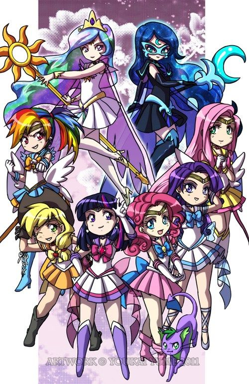 Mlp sailor moon!!!!!!