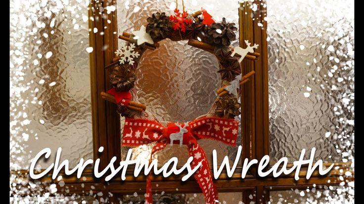 🎄🎅Christmas DIY #1 | Christmas Wreath | FairyWorld84 🎅🎄
