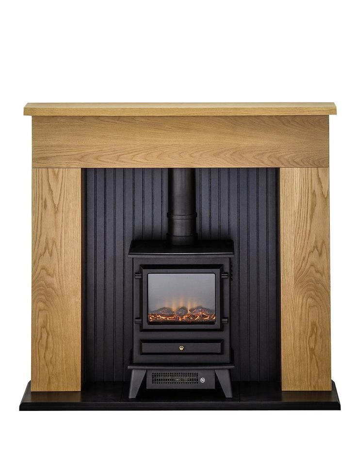 Innsbruck Oak Electric Fireplace Suite with Stove, http://www.very.co.uk/adam-fire-surrounds-innsbruck-oak-electric-fireplace-suite-with-stove/1458087636.prd