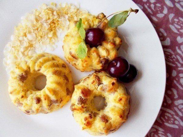 Фото к рецепту: Полезные сырники.