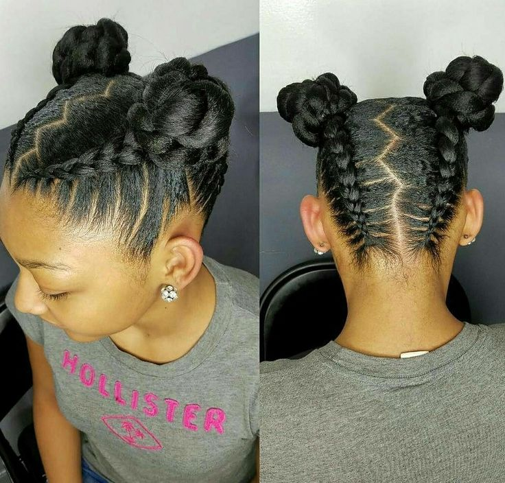 Natural hair styles for kids and teens