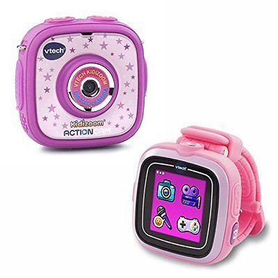 Cameras 158700: Vtech Kidizoom Actioncam And Smartwatch With Touch Screen Pink Purple New -> BUY IT NOW ONLY: $89.99 on eBay!