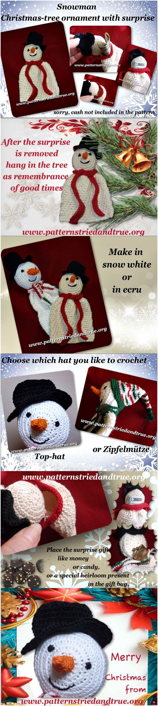 Make this Christmas Special with a handmade ornament that holds a suprise