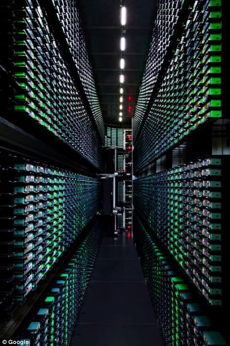 A first look inside Google's massive server farms