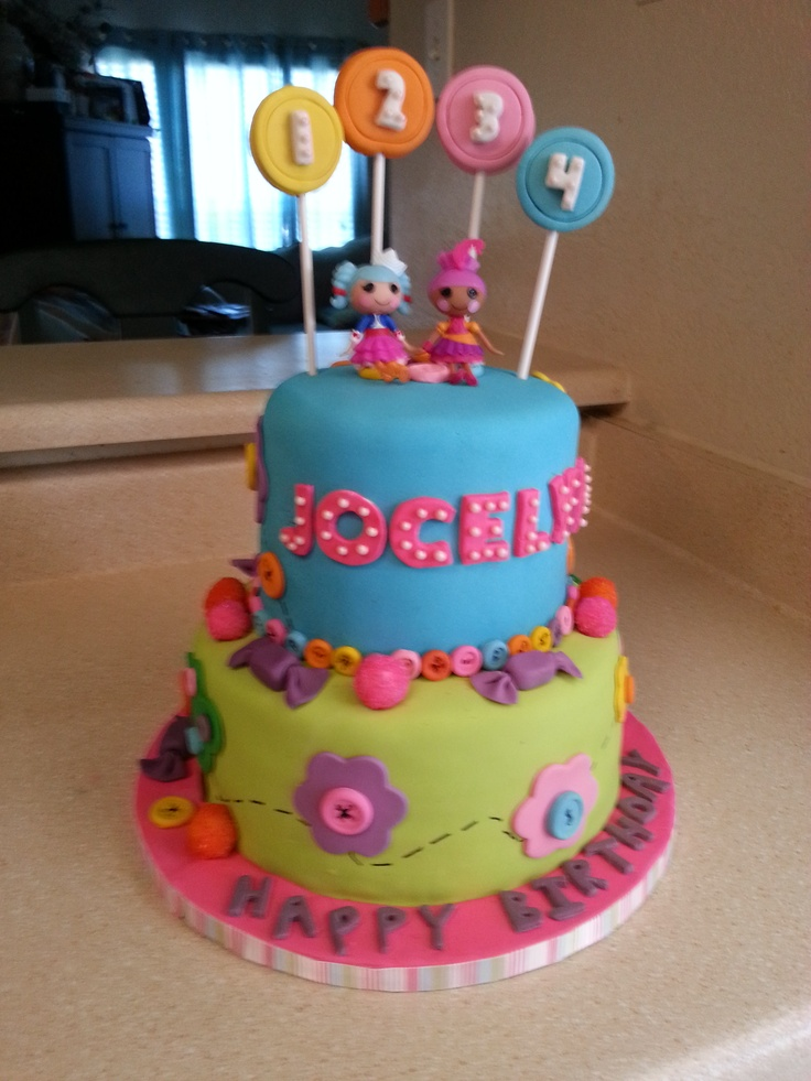 Lalaloopsy Cake Alixanne s 1st Birthday Pinterest ...