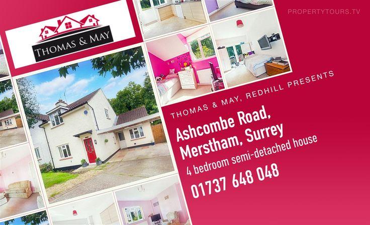 Ashcombe Road Merstham Surrey RH1 3BY