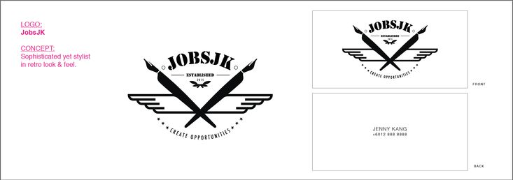 Freelance these for a friend upon her new set up company. Variation of logo design.