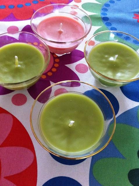 zelf kaarsen maken.... hoe simpel!