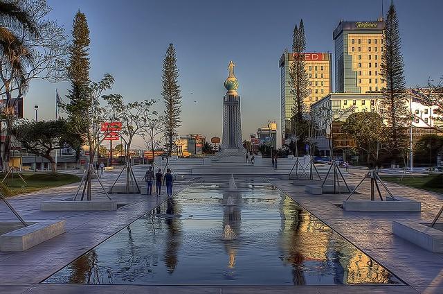 El Salvador - Plaza El Salvador del Mundo en San Salvador