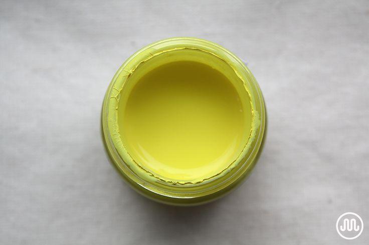 Textilka - odstín Žluté slunce