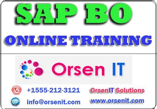 sap bo online training,sap bo training in usa