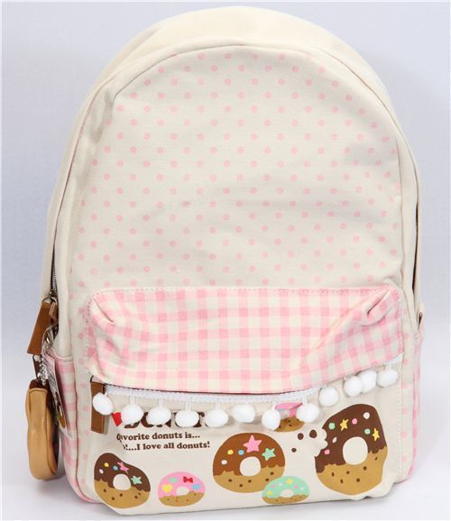 i love this doughnut backpack