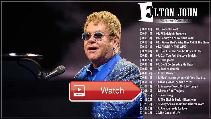 Elton John Greatest Hits Full Album Live Live Elton John Hits 17  Elton John Greatest Hits Full Album Live