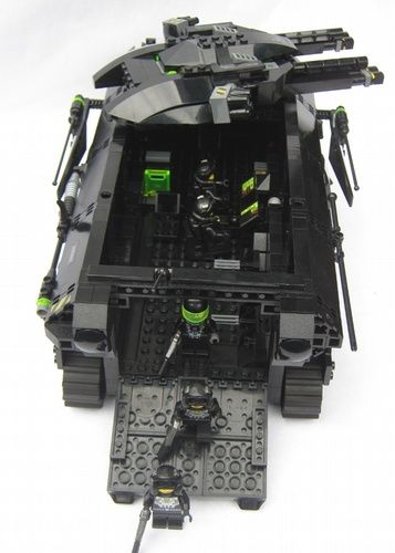 Neo Blacktron - Zeus - Mobile Command Center: A LEGO® creation by Matthias Riedel : MOCpages.com