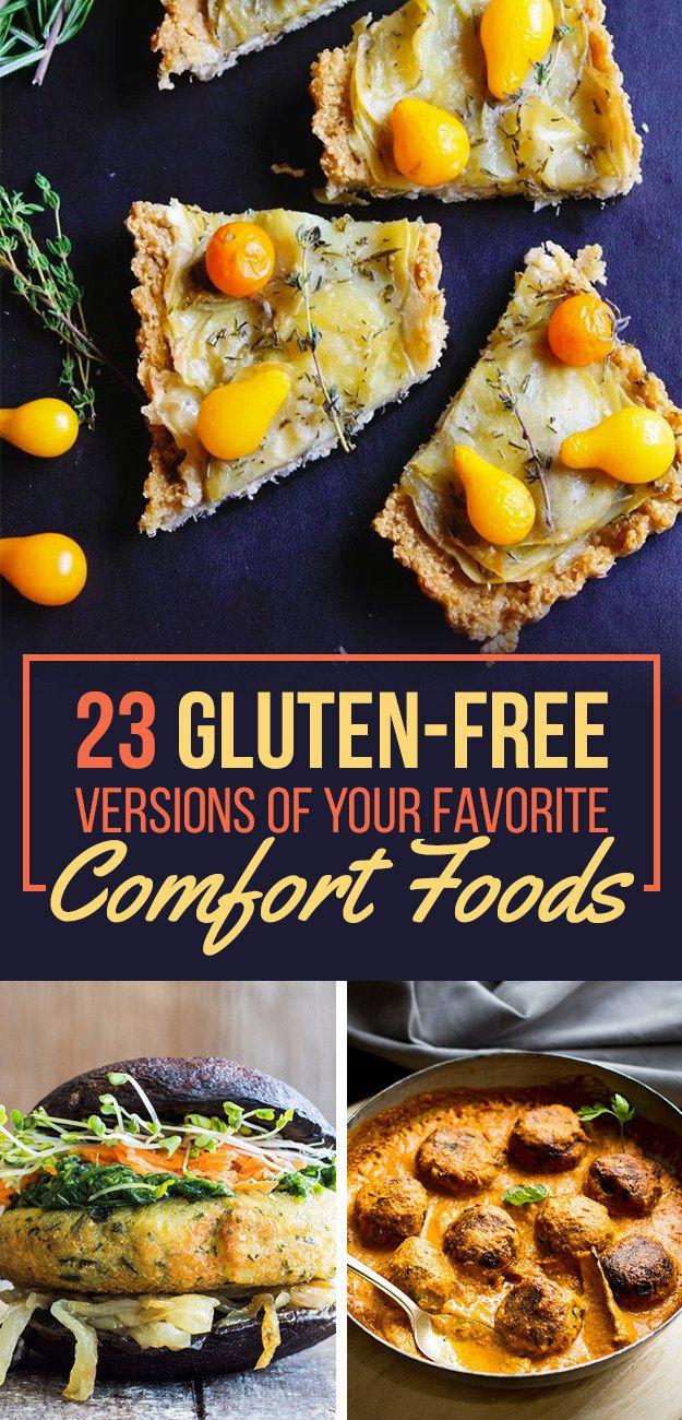 23 Gluten-Free Versions Of Your Favorite Comfort Foods