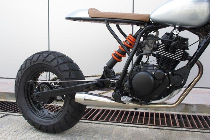 Yamaha TW200 Scrambler by Sean SpeedShop