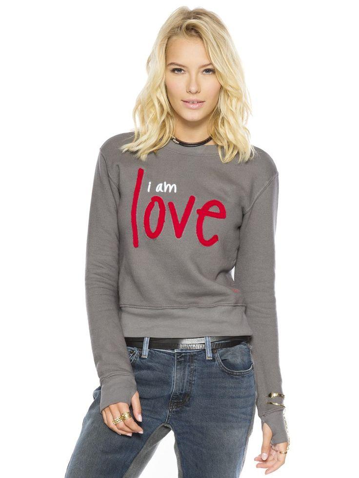 I am Love Chrome Classic Sweatshirt