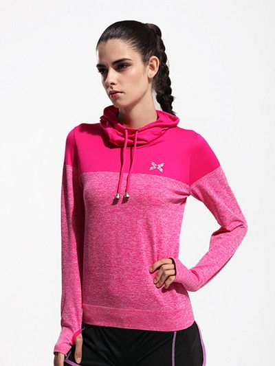 2016 New Arrival Women Gym Fitness Yoga Shirts Compression Shirts Women's Sport Long Sleeve Tees Tops Camiseta Yoga Coat S-XL