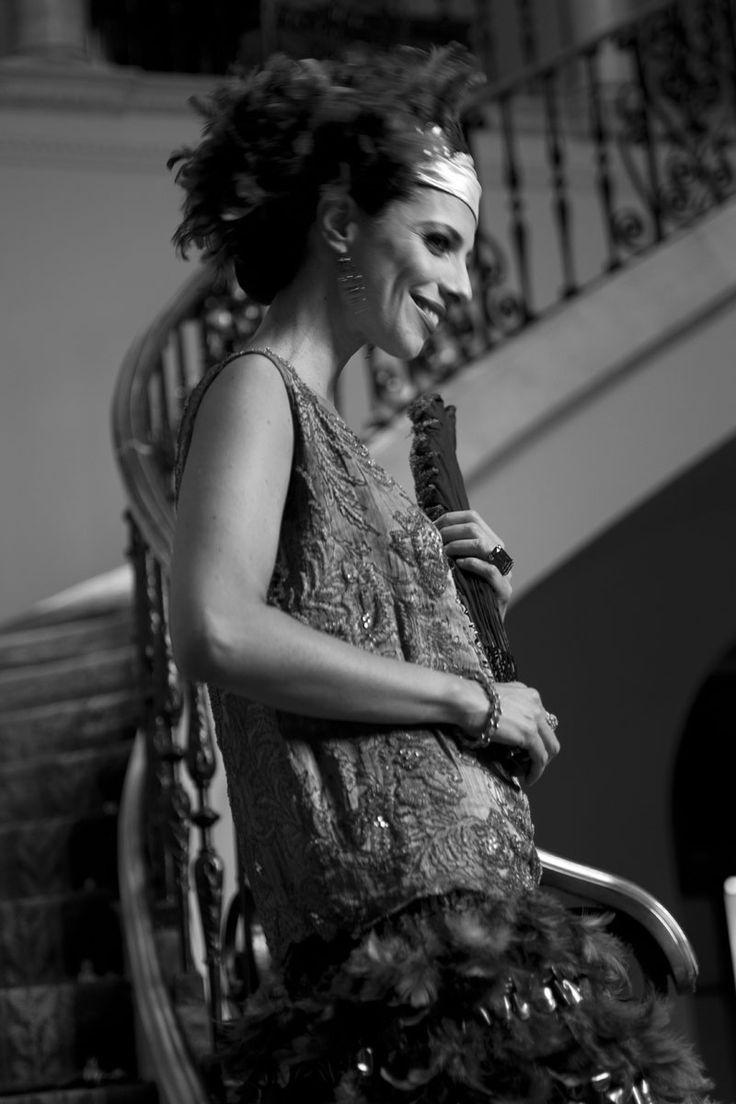 Beauty shopping inspirado en la película Blancanieves: Maribel Verdú en un momento del rodaje