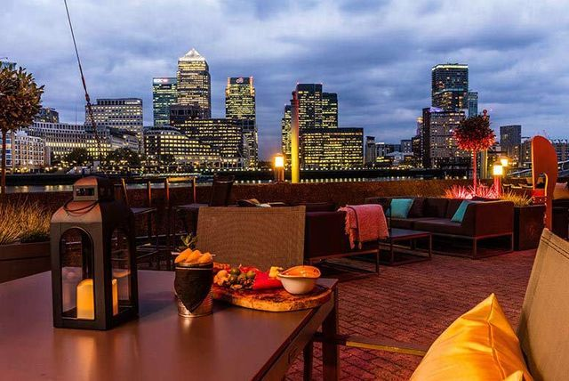 Afternoon Tea & 'Bottomless' Bubbly for 2 @ Hilton Docklands