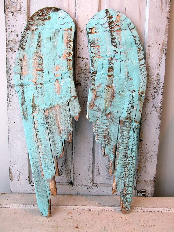 Hey, I found this really awesome Etsy listing at https://www.etsy.com/listing/271776702/large-wooden-angel-wings-wall-hanging