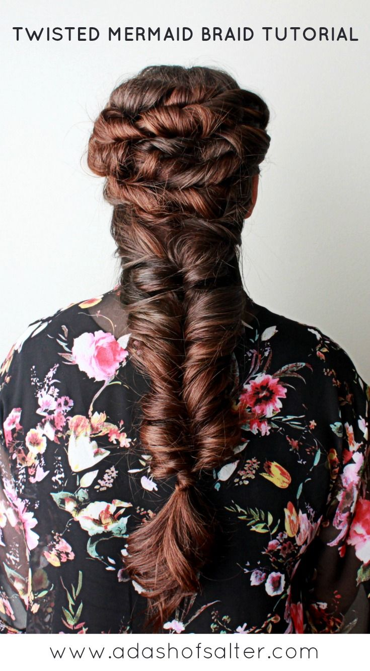 Twisted Mermaid Braid Tutorial Cheree Salter  http://www.adashofsalter.com/blog/twisted-mermaid-braid-tutorial
