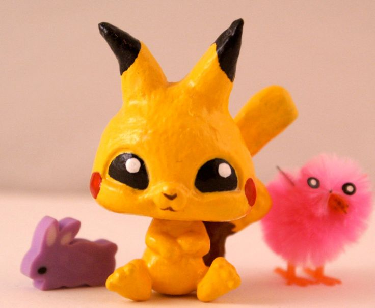 I am so making one of these. Time to go find my LPS!!!! (gota find one i use to hate so I dont care to ruin it) XD OOAK Littlest Pet Shop- Pikachu -Pokemon. $20.00, via Etsy.