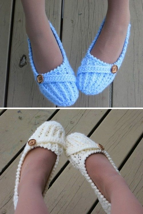 1e8b66040 Anne Lee Slippers - Crochet Pattern (Beautiful Skills - Crochet ...