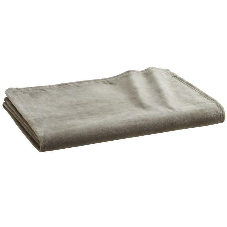 綿シール織毛布・D/グレー 180×200cm | 無印良品ネットストア