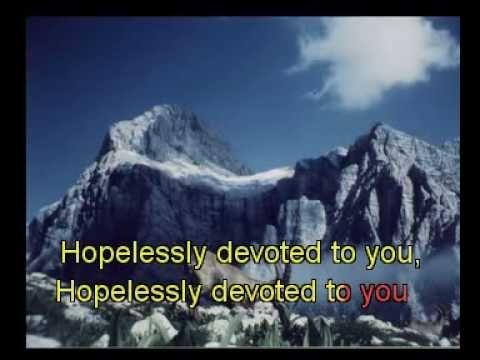 Grease - Hopelessly Devoted to you Karaoke