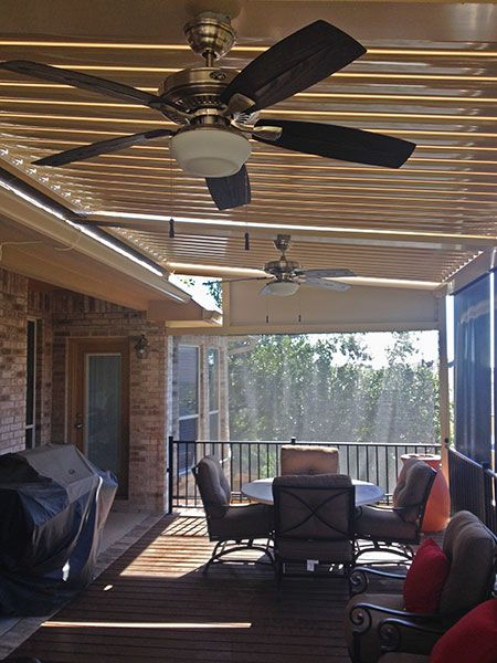 Project Gallery | Design Inspiration | EQUINOX Louvered Roof Systems
