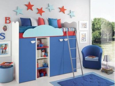 Camerette singole ~ Best camerette images bedroom kids kid bedrooms