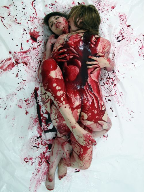 blood porn
