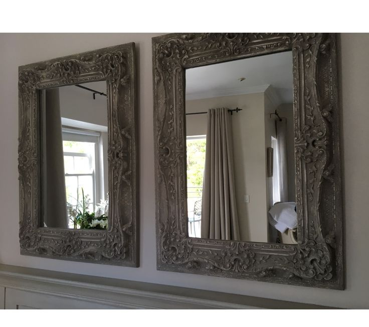 Nancy's mirrors. With a little bit of ASCP in Paris Grey this look is easy to achieve. So elegant!