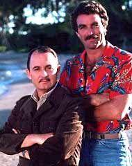 John Hillwrman & Tom Selleck