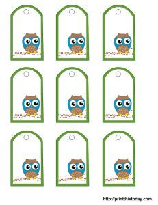 The 25 best tag templates ideas on pinterest gift tag templates free owl baby shower favor tags printable templates negle Gallery