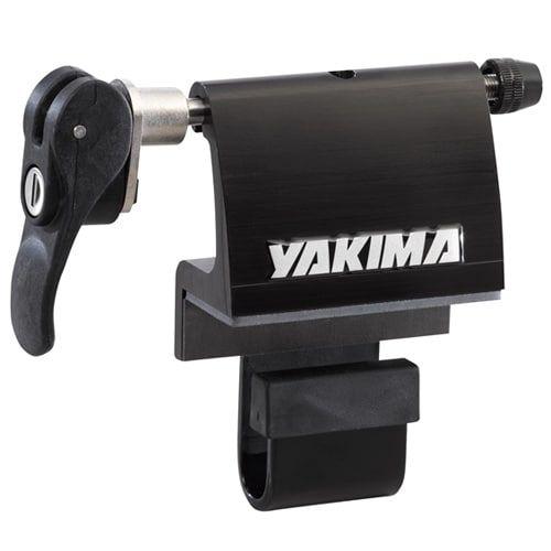 Yakima Locking BedHead Truck Bed Bike Rack, Silver aluminum