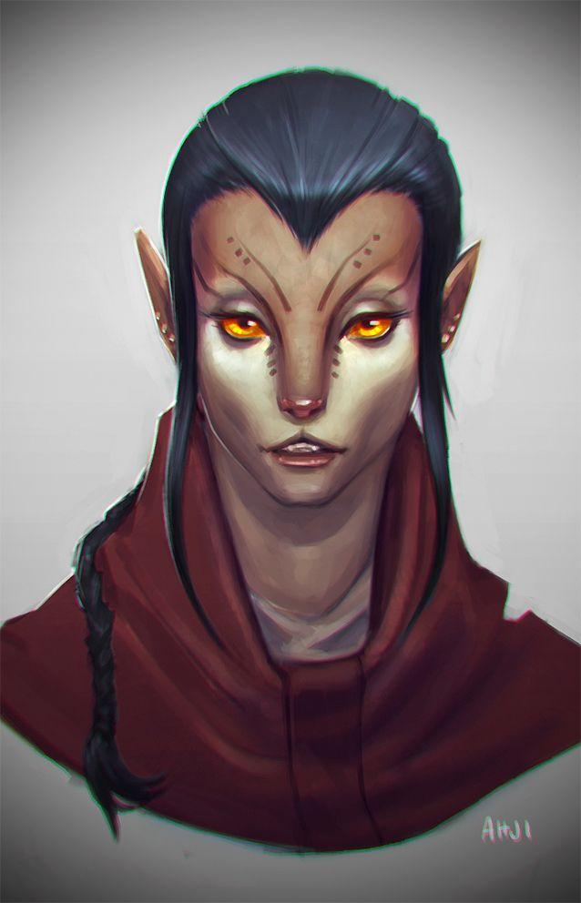 Ahji portrait by echostain.deviantart.com on @deviantART
