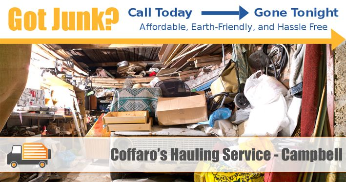 Coffaro's San Jose Hauling Services offers full junk, garbage and trash clean up in Campbell, CA area. Visit http://www.sanjosehaulingservice.com/campbell-junk-removal/