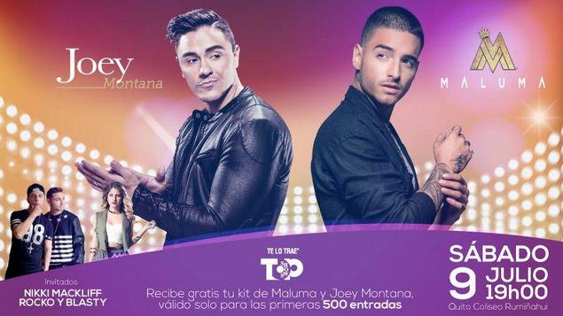 Concierto de Maluma & Joey Montana en Quito Ecuador (Julio 2016) - Foros Ecuador