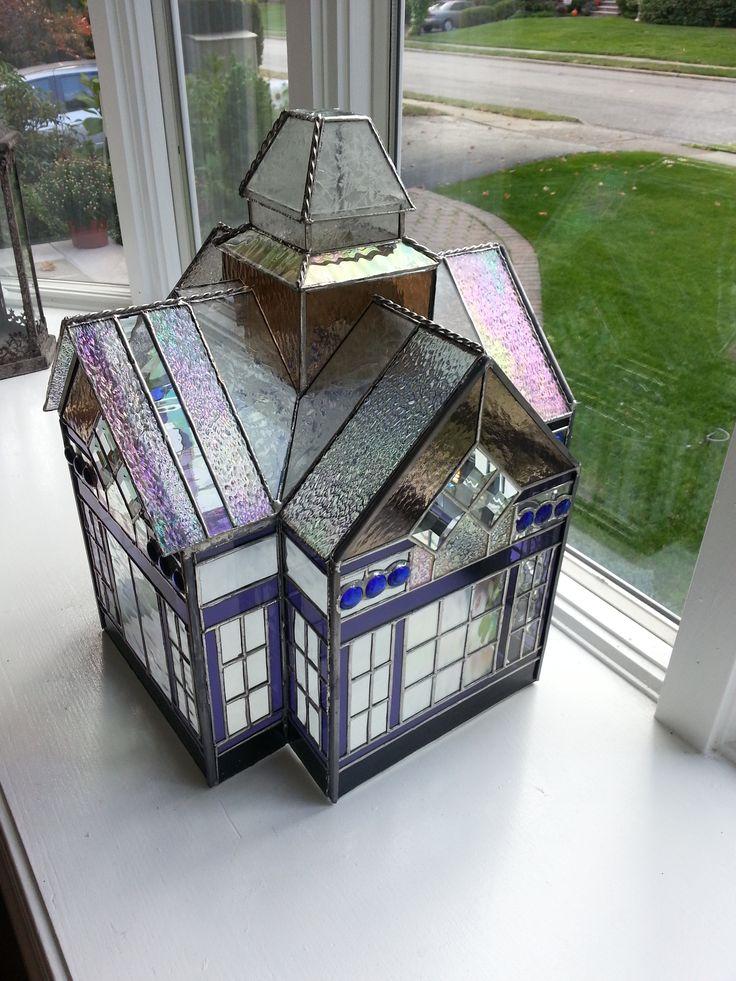 Glass terrarium *