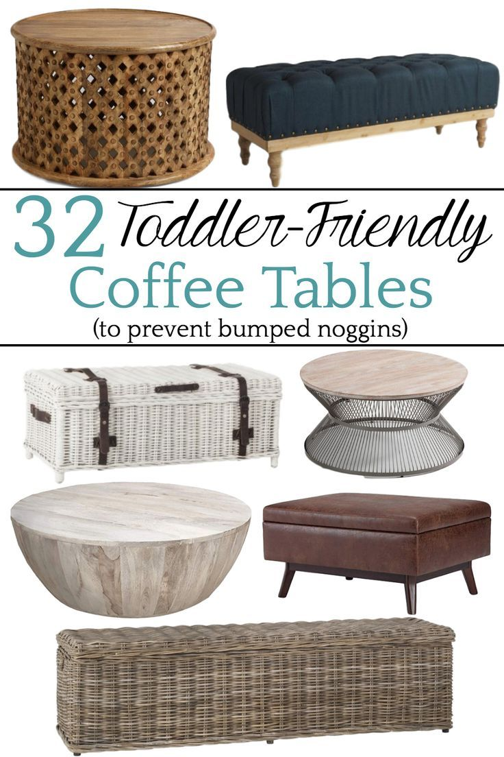 32 Of The Best Kid Friendly Coffee Tables Cool Coffee Tables