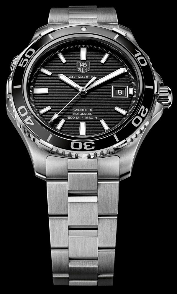 Tag Heuer Aquaracer 500m Ceramic Watch | aBlogtoWatch Very nice watch. Beaverbrooks link: http://www.beaverbrooks.co.uk/0001784/TAG-Heuer-Aquaracer-Calibre-5-Automatic-Mens-Watch/p