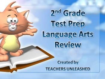 2nd grade english language arts review powerpoint and test. Black Bedroom Furniture Sets. Home Design Ideas